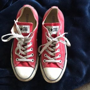 Converse Shoes - Red unisex converse